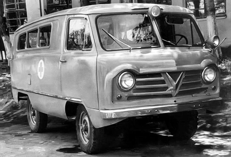 УАЗ-450А Санитарный