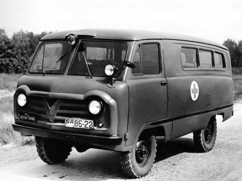 УАЗ-450А Санитарный (юд86-22 Испытания №1)