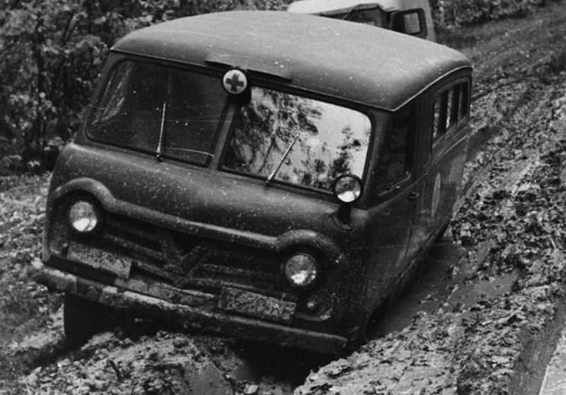 УАЗ-450А Санитарный (Испытания)