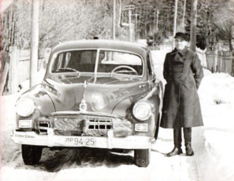 ГАЗ-12 ЗИМ (лр 94-25, Латвийская ССР)