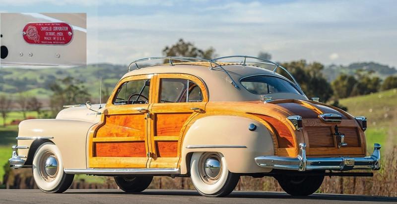 1947 Chrysler Town & Country (из журнала - Nitro №305 2020 avril-mai)