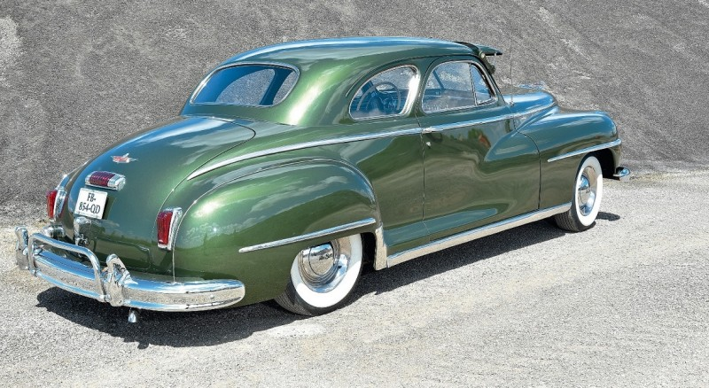 1948 DeSoto Coupe Club Custom S11 (из журнала Nitro №303 2019_dec-2020_jan)