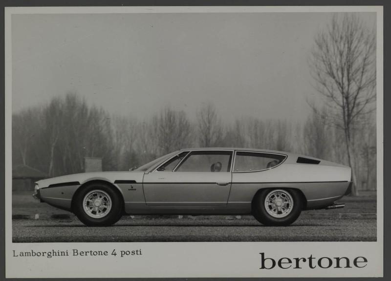 Lamborghini Bertone 4 posti