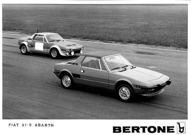 1973 FIAT X1/9 Abarth