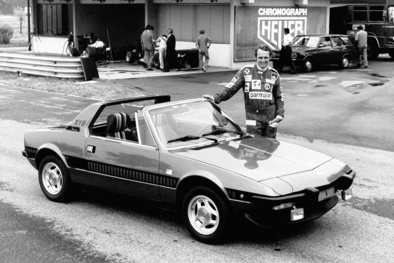 Fiat X1/9 Série Speciale & Niki Lauda