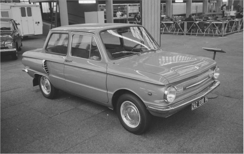 1971 ЗАЗ 966 (ZAZ 1200 V4) - Amsterdam International Motor Show