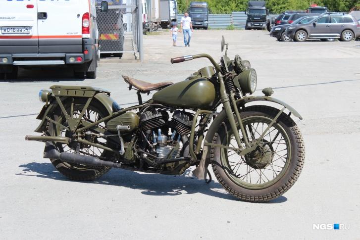 1943 Harley Davidson WLA-42 (НГС - Фото: Дмитрий Косенко)