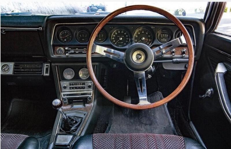 1970 Mitsibishi Colt Galant GTO MR (по материалам журнала No.173 Old-timer - 2020-06)