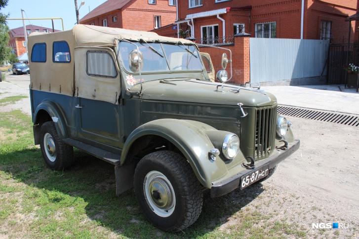 ГАЗ-69 65-87 нсг (Фото: Дмитрий Косенко, специально для НГС)