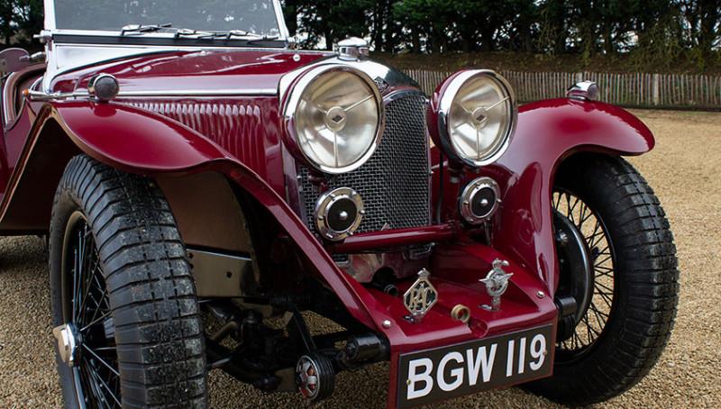 1934 Riley 9 Imp (BGW 119)