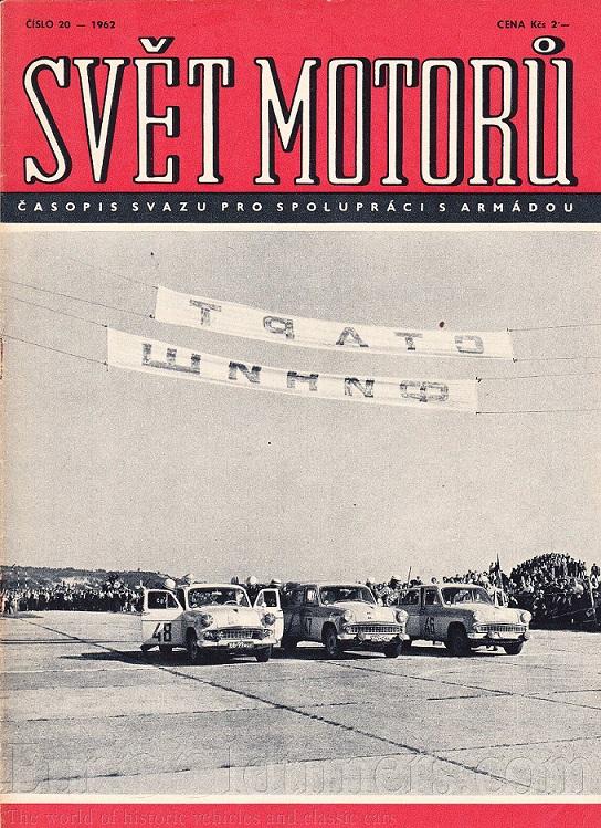 """журнал """"Svet Motoru"""" 1962 № 20"""