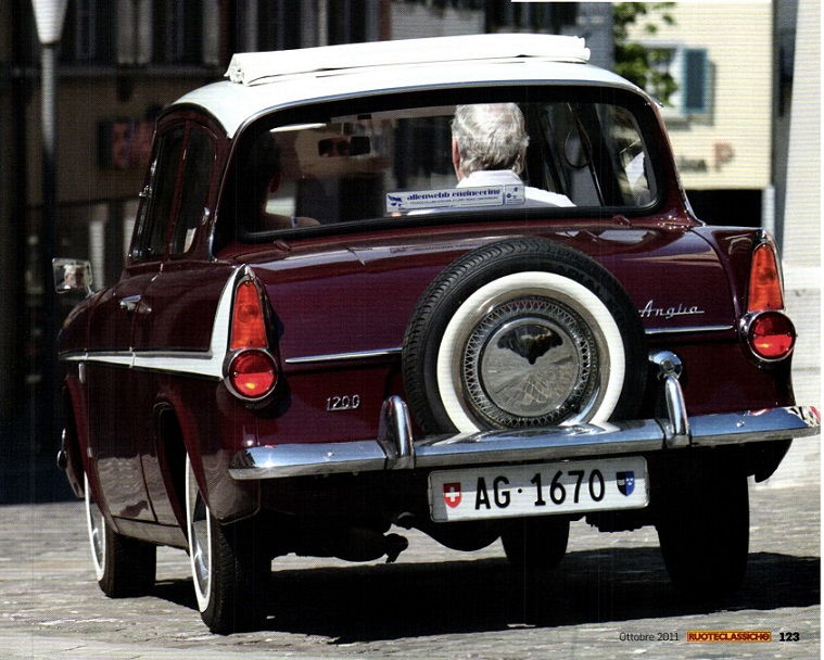 """1963 Ford Super Anglia 1200 (по материалам """"RuoteClassiche"""" 2011 № 10)"""