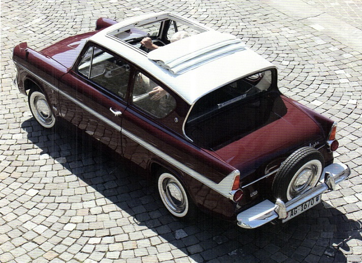 "1963 Ford Super Anglia 1200 (по материалам ""RuoteClassiche"" 2011 № 10)"