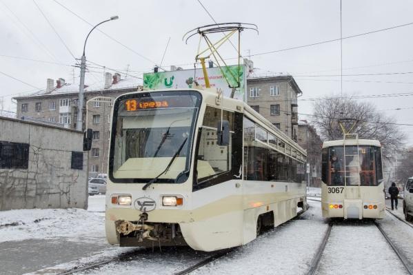 2019 Трамвай № 13 71-619К (г. Новосибирск)