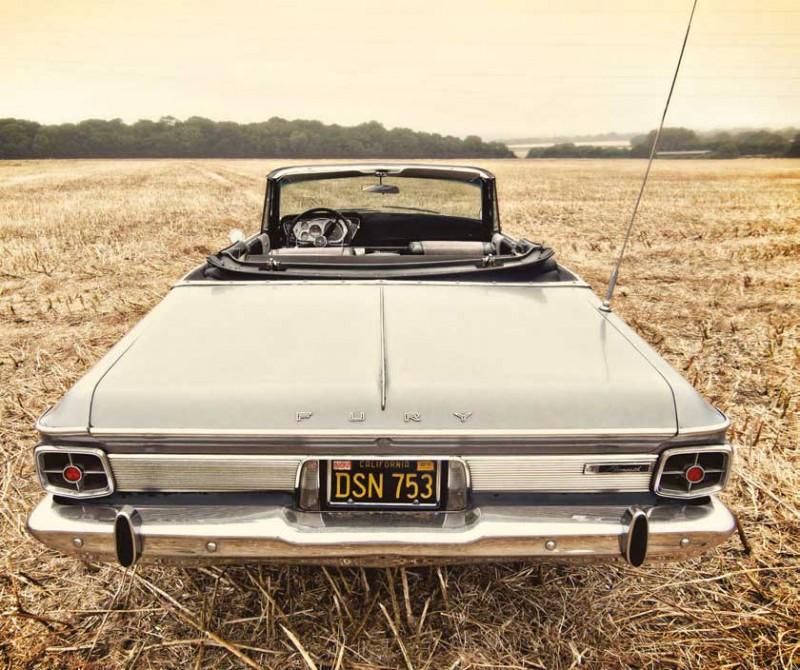 "1963 Plymouth Fury Convertible (по материалам ""American Car"" 2013 №11)"
