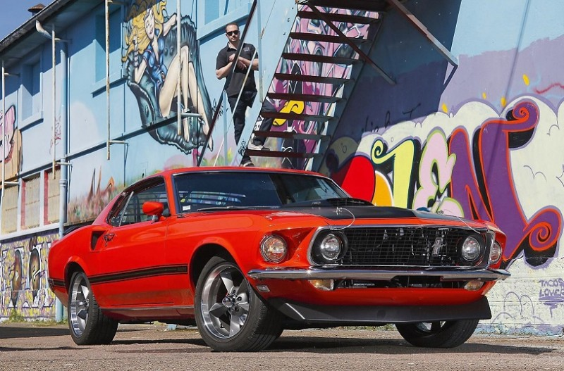 "1969 Ford Mustang Mach 1 (по материалам ""Nitro"" №291 2017)"