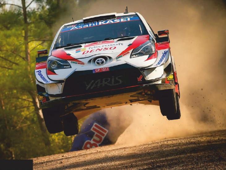 "2020 Toyota Yaris (по материалам ""Motorsport News"" October 2020)"
