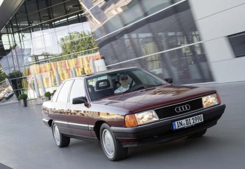 1990 Audi 100 TDI (по материалам журнала Avus № 53 2019 09-10)