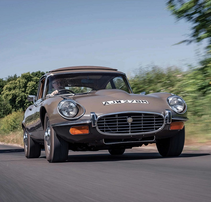 "Jaguar E-Type V12 (по материалам журнала ""Classic Car Mart"" 11-2020)"