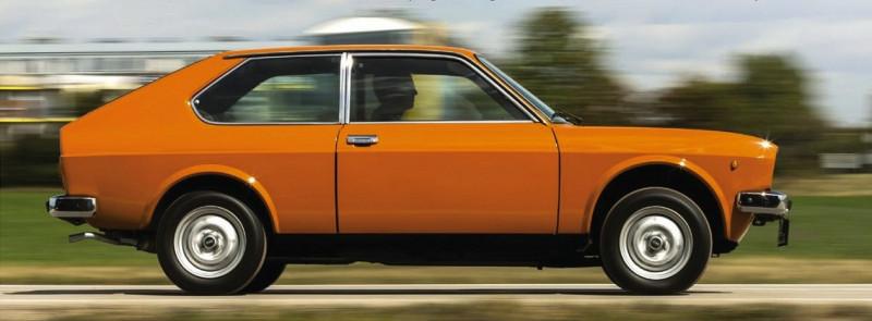 "1976 FIAT-128 3P Berlinetta 1100 (по материалам журнала ""Alles Auto"" 2018 01-02)"