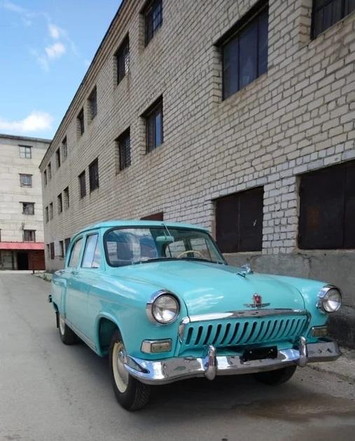 """1959 ГАЗ 21В """"ВОЛГА"""""""