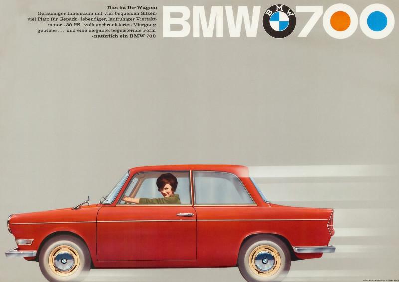 BMW 700 - Реклама