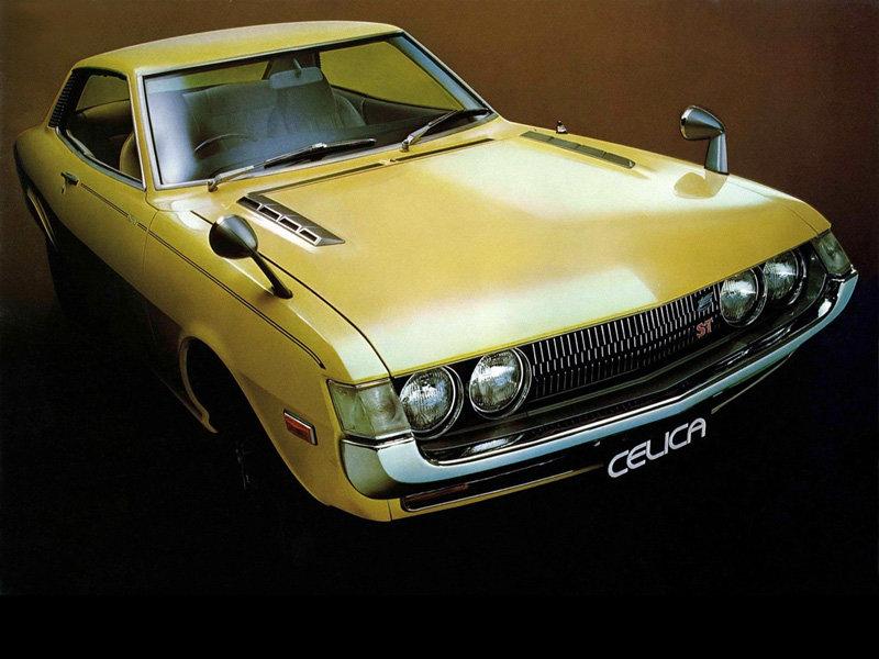 1970-е Toyota Celica Coupe