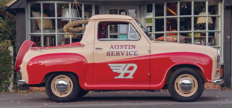 """Austin A35 Pick-Up (по материалам """"Classic & Vintage Commercials"""" 2021-02)"""