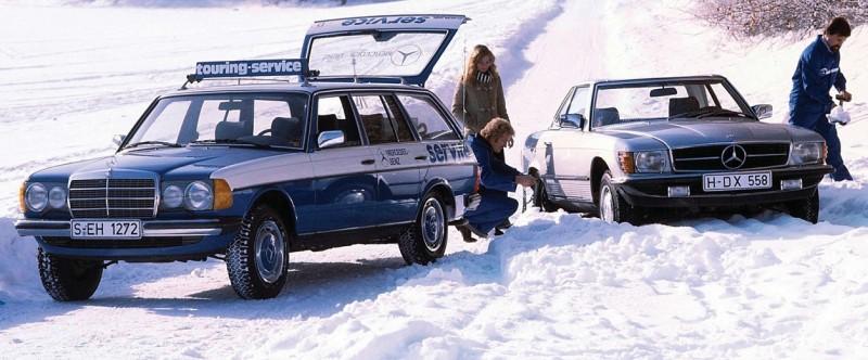 """1979 Mercedes-Service (из журнала """"Auto Plus Classiques"""" N52 2020"""")"""