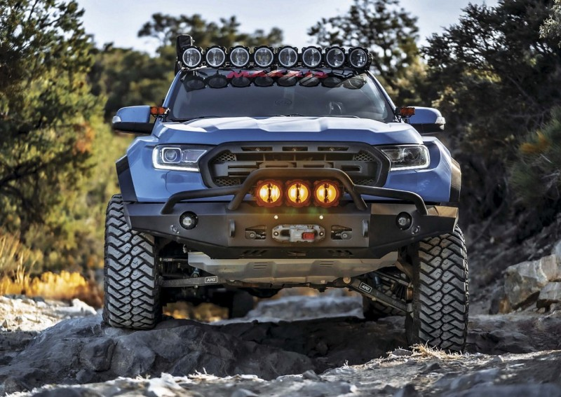 "2019 Ford Ranger Pushes Limits Off Road по мотивам журнала ""Tread Magazine"" 2021 03-04"