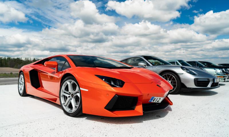 Lamborghini Aventador (летний вариант)