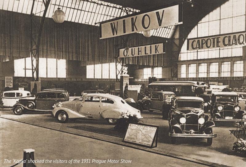 1931 Пражский Автомобильный салон