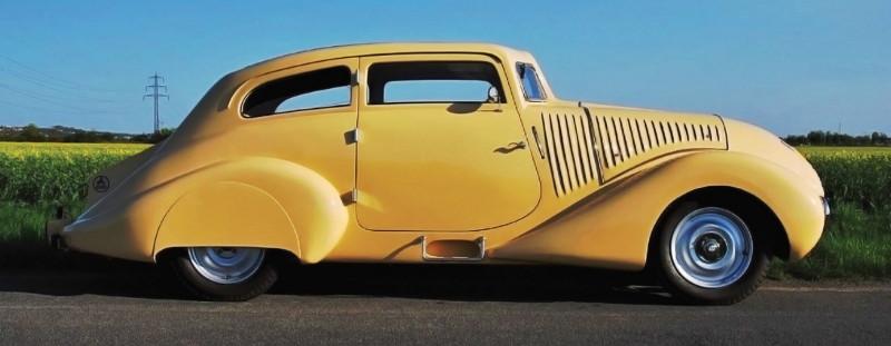 """1931 Wikov 35 """"Kapka""""(по мотивам журнала Rare & Unique Vehicles 2021-01)"""