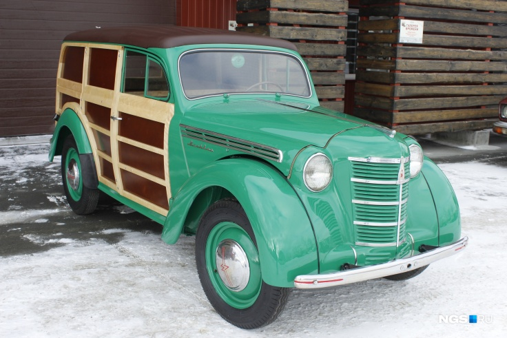1954 Москвич 400-422 (по материалам НГС. Фото: Дмитрий Косенко)