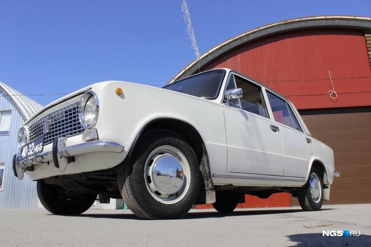 """1970-е ВАЗ-2101 """"Жигули"""" 40-32нбб (Фото: Дмитрий Косенко НГС)"""