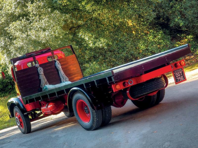 """1954 Leyland Comet (по мотивам журнала """"Trucking Magazine_-_Issue450 2021 02)"""