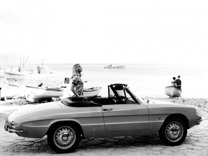 1966 Alfa Romeo Giulia 1600 Spider Duetto