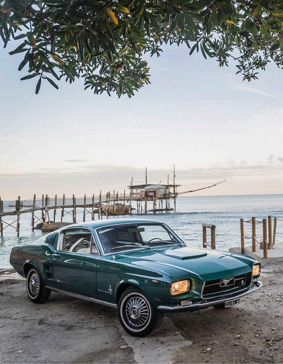 "1967 Ford Mustang Fastback ""Zagato Elaborazione"" (по мотивам издания Octane № 53 2021 Ete)"