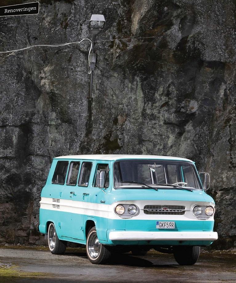 """1962 Chevrolet Corvair 95 (по мотивам издания """"Klassiker"""" Nr. 06 2021)"""