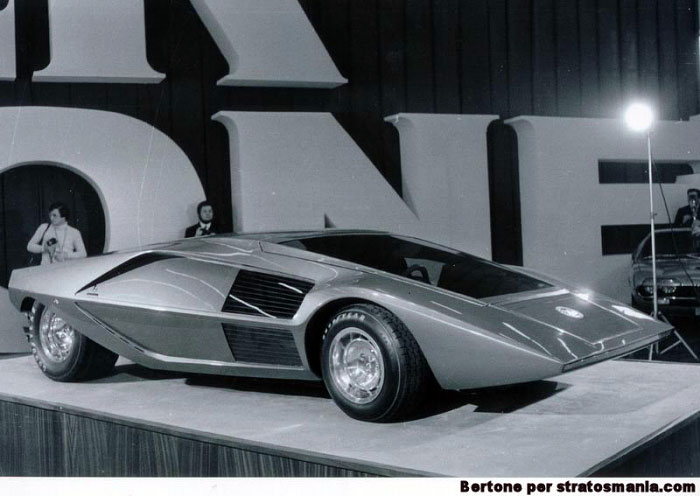 1970 Lancia Stratos HF Zero (dy Bertone)