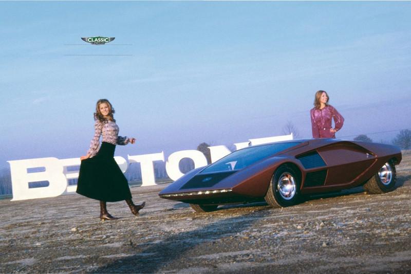 """1970 Lancia Stratos Zero (by Bertone) — по мотивам издания """"Classic & Sports Car"""" 08.2021"""