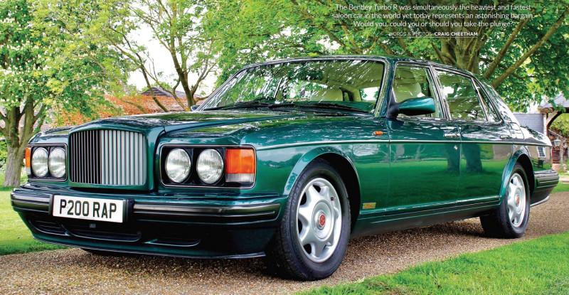 1990's Bentley Turbo R (по мотивам издания — Car Mechanics Bargain Cars 2021 08)