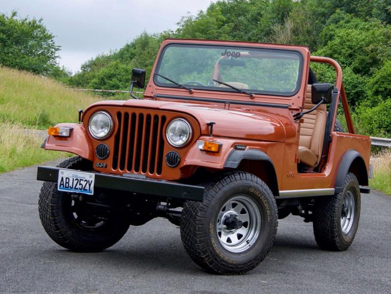 "Jeep CJ-7 (по мотивам издания ""The Mud Life"" 10.2021)"