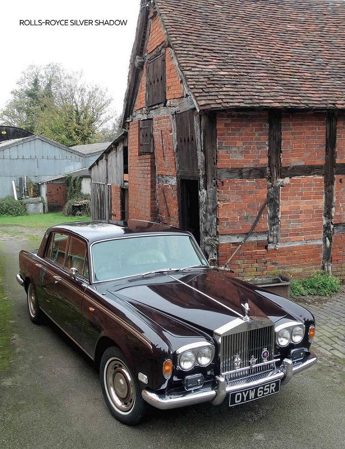"""1976 Rolls-Royce Silver Shadow (по мотивам издания """"Rolls-Royce and Bentley Driver"""" 2021-11)"""
