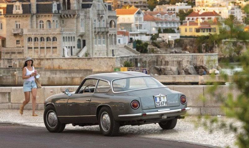 "1964-67 Lancia Flaminia Super Sport Zagato (по мотивам издания ""Motor Klassik"" 11.21)"