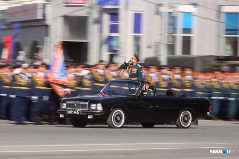 Парадный кабриолет ГАЗ-3102