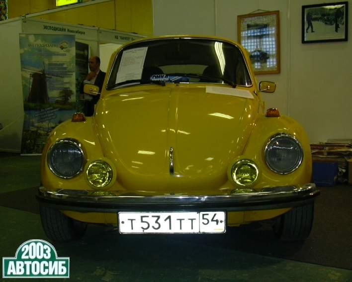 АвтоСиб 2003 Volkswagen Beetle (т531тт54)