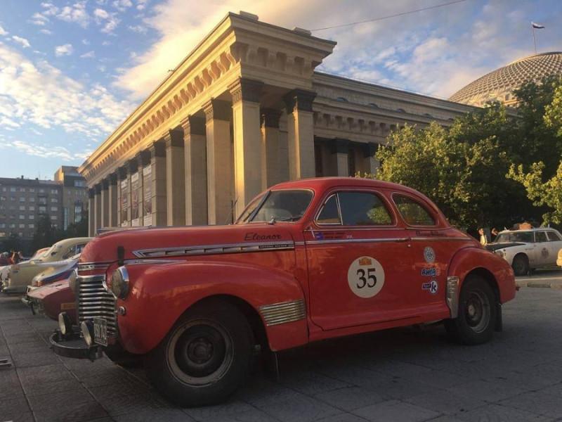 ТАСС (tass.ru) - 1941 — Chevrolet Super Deluxe Coupe 4300cc Andrew Barnes(GB) / Charlotte Lockhart(NZ)