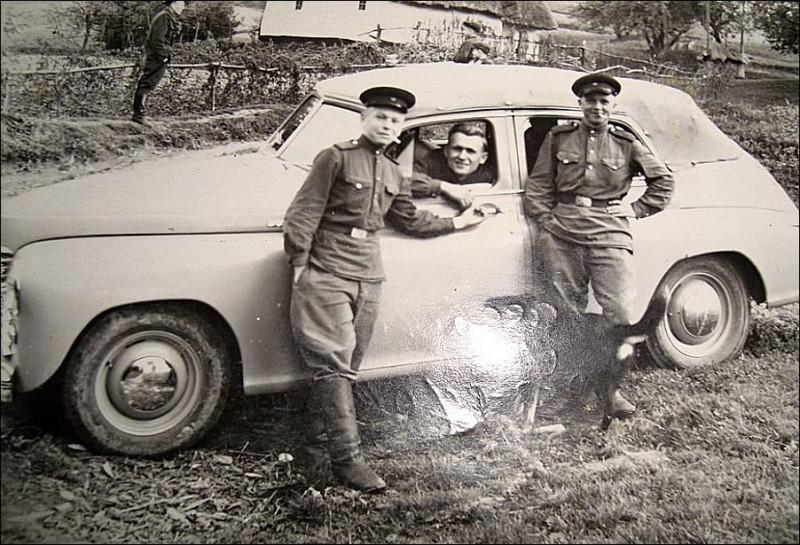 """ГАЗ М20 """"Победа"""" Кабриолет на службе."""