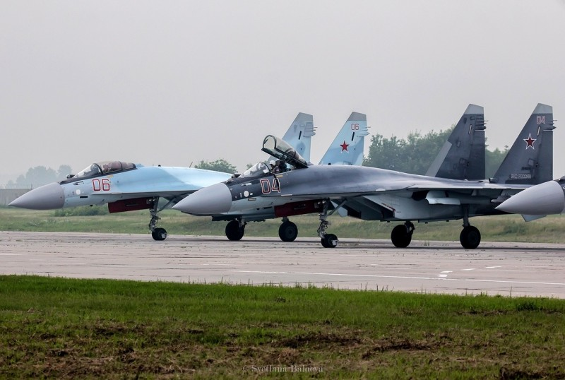«Соколы России» на Су-35 (Фото: Светлана Балаева)